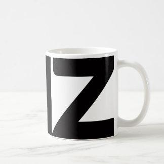 test basic white mug