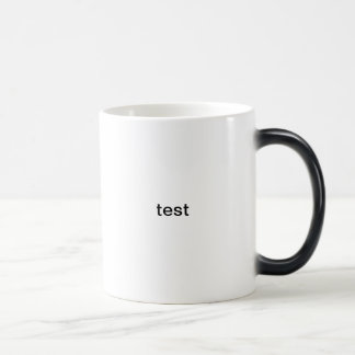 test morphing mug