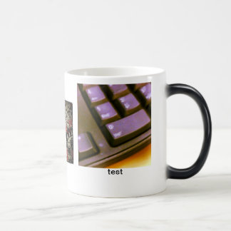 test OOSs 11 Oz Magic Heat Color-Changing Coffee Mug