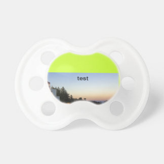 test pacifiers