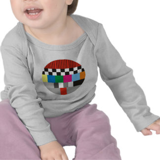 Test Pattern Design T Shirt
