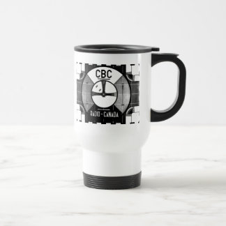 Test Pattern Stainless Steel Travel Mug