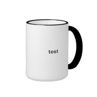 test ringer coffee mug