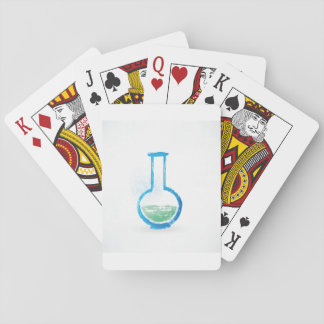 Test Tube Illustration Playing Cards