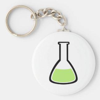 Test tube keychain