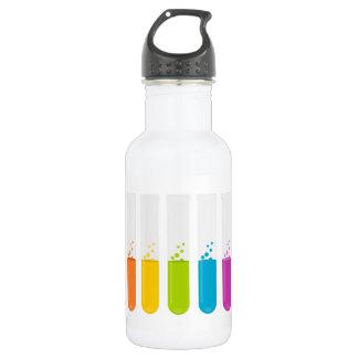 Test tubes 532 ml water bottle
