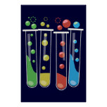 Test Tubes Poster