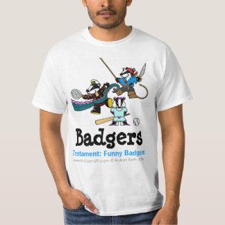 TESTAMENT: FUNNY BADGERS (TM) Dantoo, Hoth and Sol T-Shirt