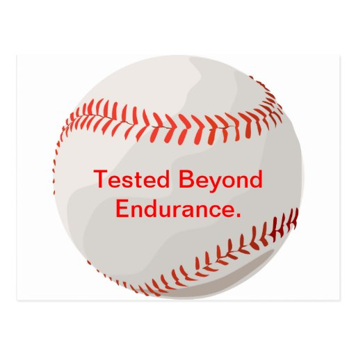 Tested Beyond Endurance. Post Card