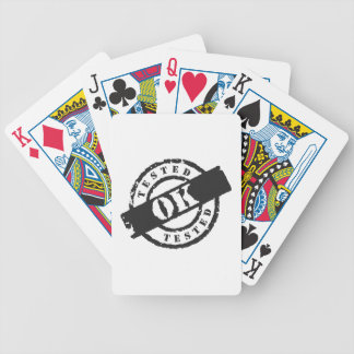 Tested Ok Bicycle Playing Cards