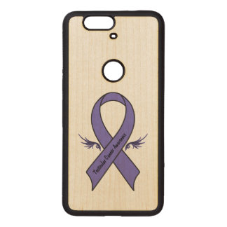 Testicular Cancer Awareness Wood Nexus 6P Case