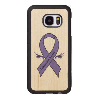 Testicular Cancer Awareness Wood Samsung Galaxy S7 Case