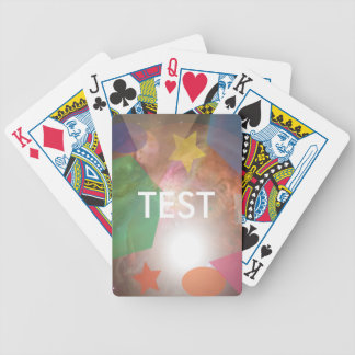 testing geos bicycle playing cards