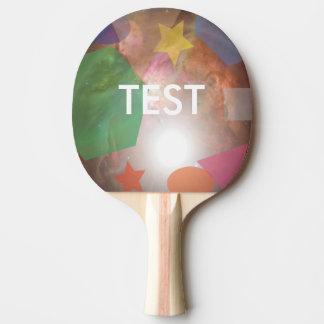 testing geos ping pong paddle