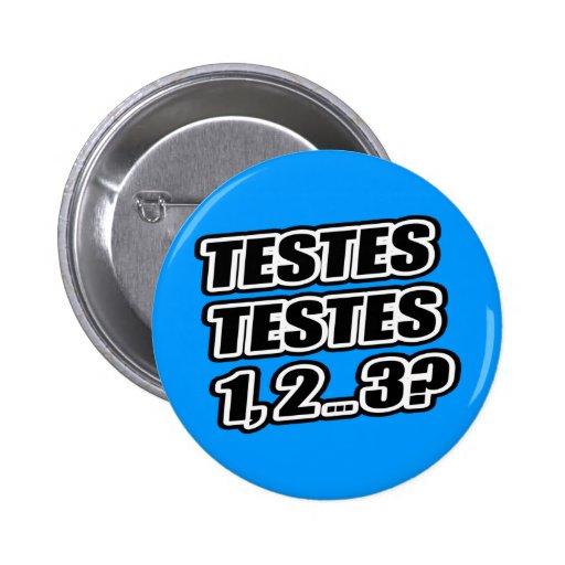 Testing Testing 1 2 3 Testes Testes 1 2 ... 3? Pin