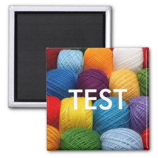 testing yarn magnet