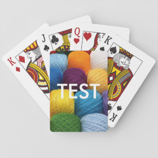 testing yarn poker deck