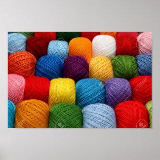 testing yarn poster