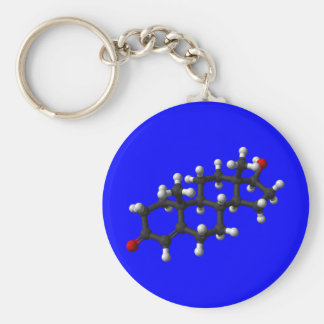 Testosterone in 3D Keychain