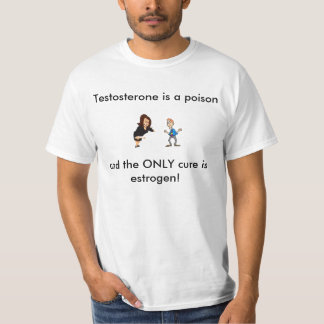 Testosterone is a poison T-Shirt