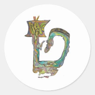 Tet Round Sticker