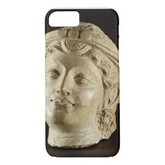 Tête de stuc, Gandhara, ANNONCE du 4ème siècle Coque iPhone 7