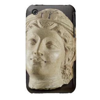 Tête de stuc, Gandhara, ANNONCE du 4ème siècle Étui iPhone 3