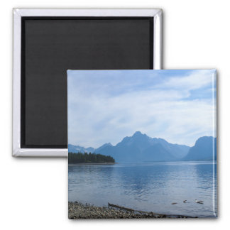 Teton Beauty Square Magnet