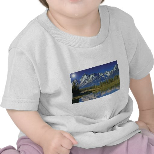Teton Mountain Lake Template Shirt