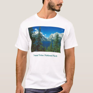 Teton Mountains and Lake T-Shirt