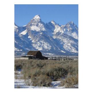 Teton Ranch Postcard