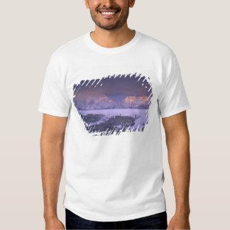Teton Range from Snake River Overlook, Grand Shirt