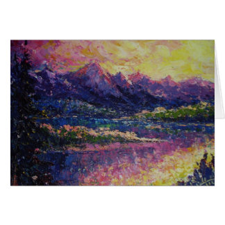 Teton Reflections Card