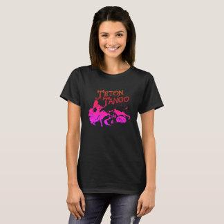 Teton Tango Design pink&blk T-Shirt