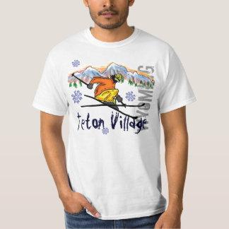Teton Village Wyoming ski value tee