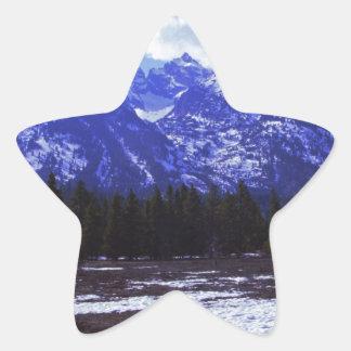 Tetons #2.JPG Star Sticker