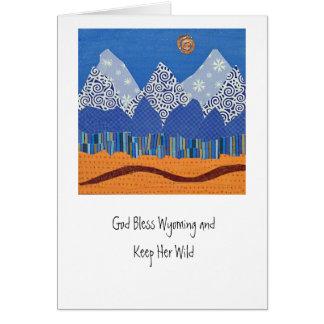 Tetons Card