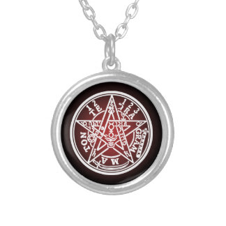 TETRAGRAMMATON 01 SILVER PLATED NECKLACE