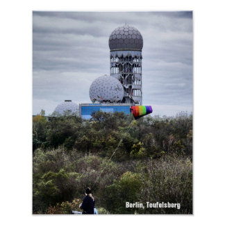 Teufelsberg 01.3.T, BERLIN Poster