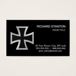 Teutonic cross business card