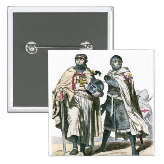 Teutonic Knights 2 Inch Square Button