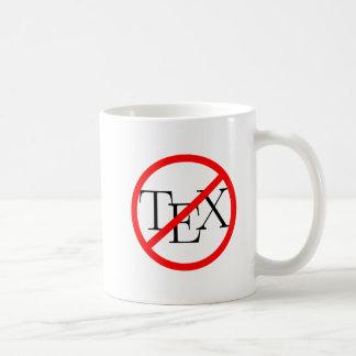 TeX sucks mug