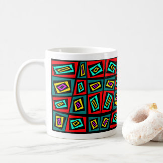 Tex-Tile Design by Blaise Gauba Artist Coffee Mug