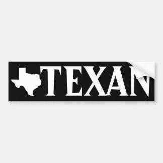 Texan Bumper Sticker