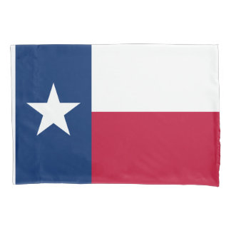 Texan flag pillowcase sleeve for Texas