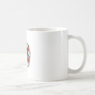Texan Outlaw Texas Flag Barb Wire Icon Coffee Mug