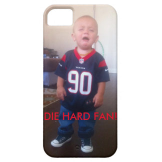 Texans Cry Baby die hard fan iPhone 5 Cover