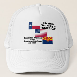 "Texans For Arizona ""Official"" Baseball Cap"