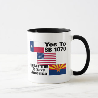 Texans For Arizona- Yes To SB 1070 Coffee Cup