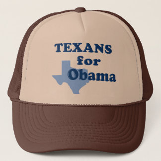 Texans for Obama Trucker Hat